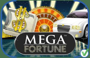 Mega Fortune machine à sous