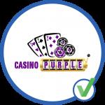 casino purple logo