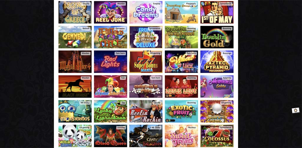 screenshot harrys casino games