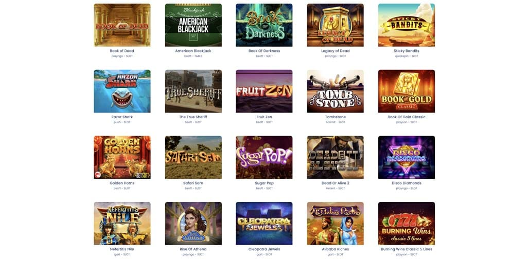 screenshot jack21 casino games