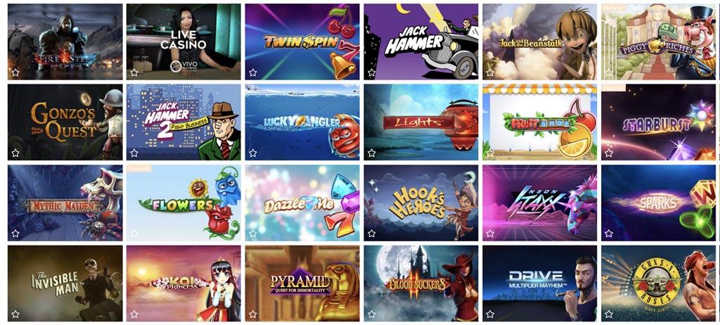 screenshot rouge casino games